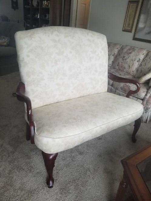 """High back loveseat, 4' wide 41"""" tall"""