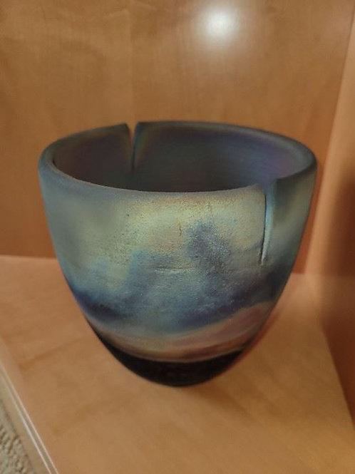"Bernstein 6.5"" Raku pottery"