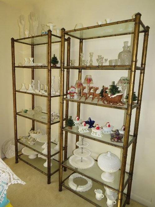 $95.00 each, Bronze Drexel Heritage etageres