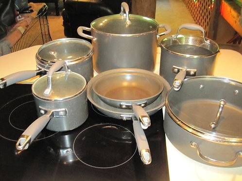 Analon cookware set gently used