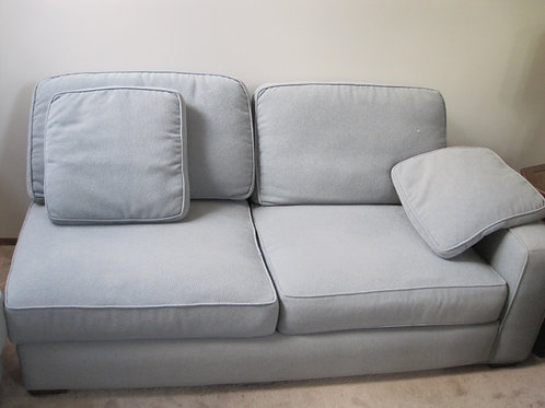 Light blue sectional