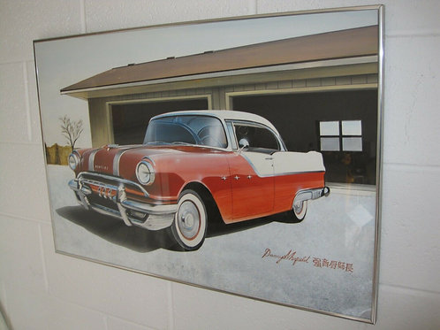 Danny Whitfield Original Commissioned Painting - 1955Pontiac