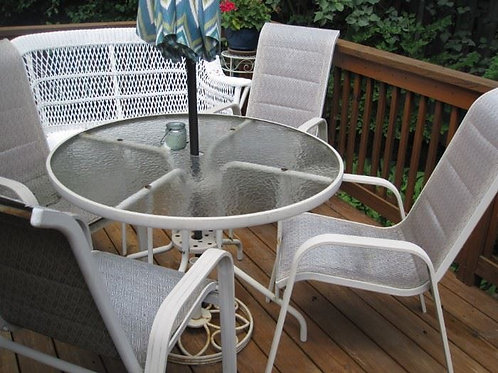 Patio set 4 chairs