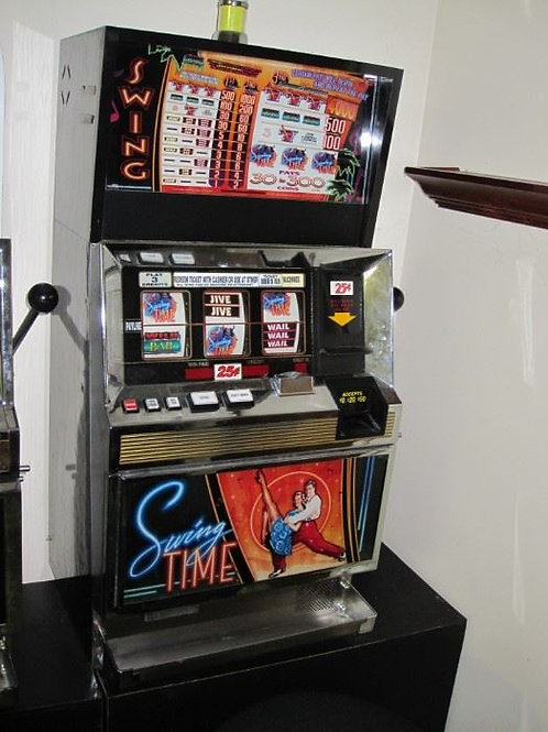 1999 Bally Swing Time coin slot machine - Works model #S63U3C6F