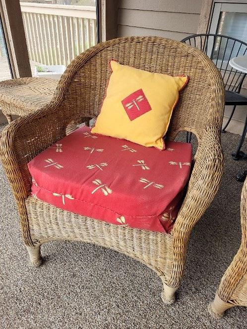 Wicker Chair ($25 Ea)