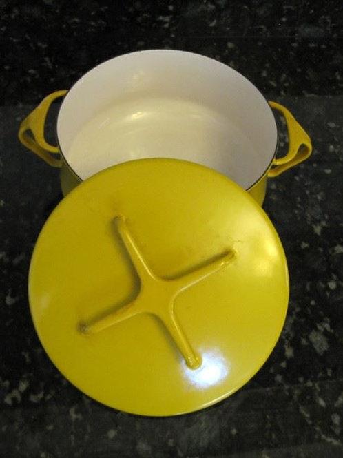 Dansk yellow 1 quart cookware