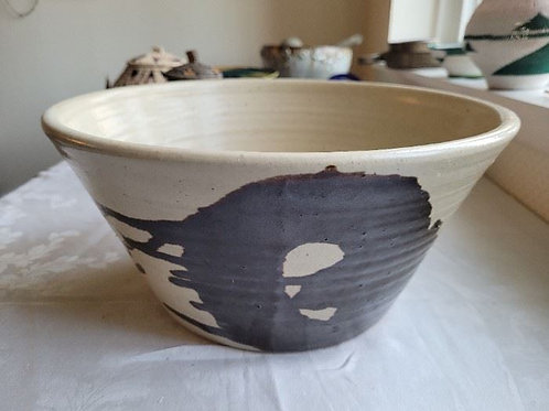 "Large Signed Studio Art Pottery Pot - 20"""