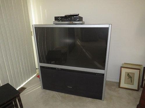 SRS plasma TV, old but works great!!