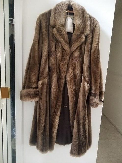 Fur Coat, shows wear