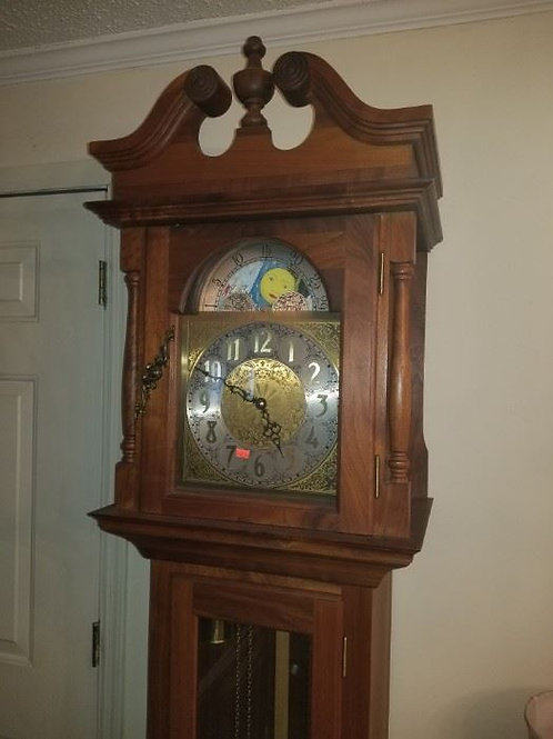 Grandfather clock works