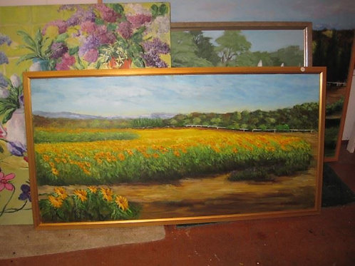 """Daisy Field by J. Coates 25/50"""""""