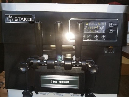 Stakol Twist 2 hopper soft serve ice cream machine used 6 times, 4 months old