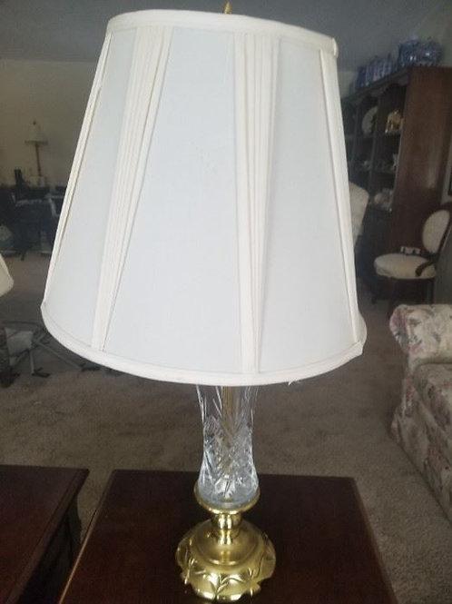 "30 "" Stiffel lamp VG condition Stunning Heavy Brass Base"