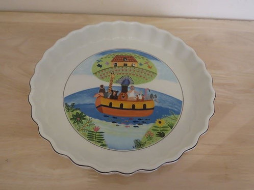Villeroy & Boch Noas Ark Pie Dish VG condition