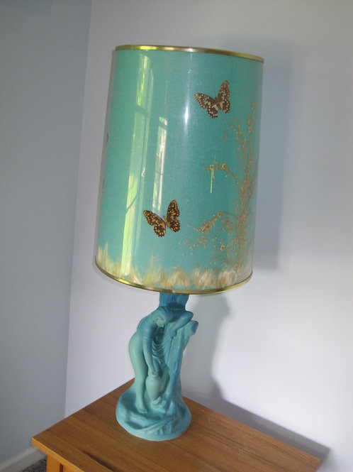 MCM Rebecca at the Well, Van Briggle lamp with original shade excellent cond.