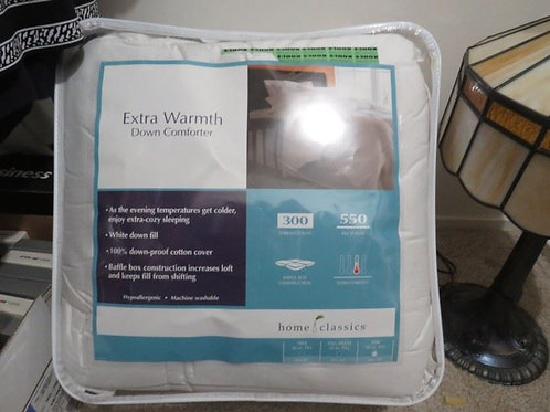 King Down Comforter New in Case