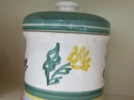 Italy cookie jar