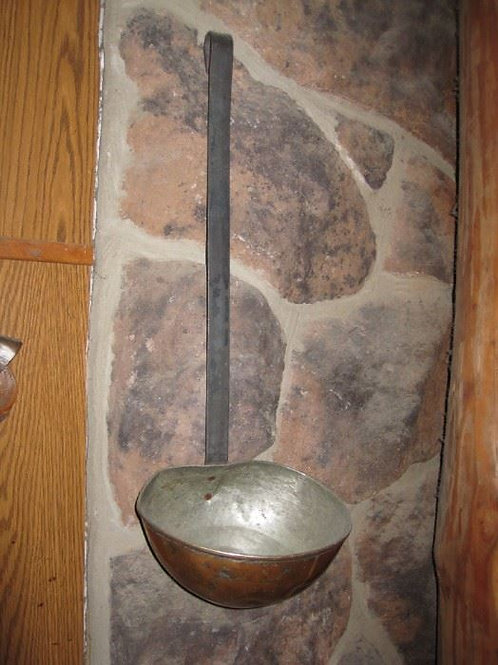 "25"" Large Copper Ladle"