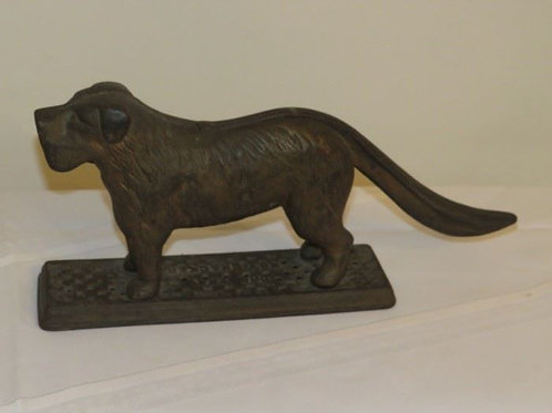 Antique Dog Nutcracker