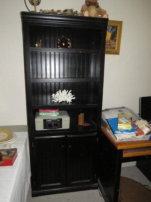 Black enamel Book shelf