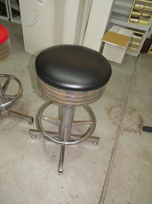 1st Building, Black Chrome stool used condition