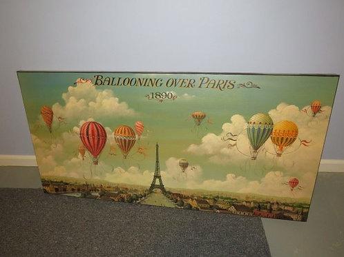 Ballooning Over Paris Print