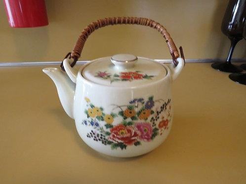 Tea Pot - Floral