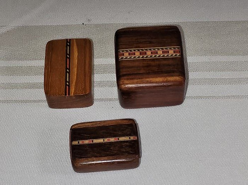 Miniature Heartwood Creations Boxes