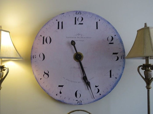 """Antoine Clock 31"""" VG condition"""