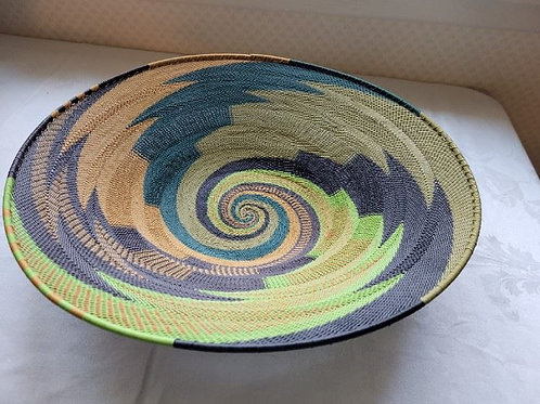 """African Telephone Wire Bowl 