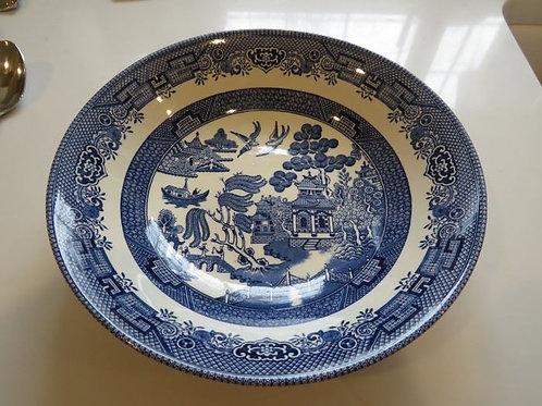 Churchill England Blue Willow Bowl