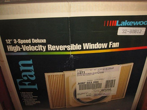 Lakewood High Velocity window fan