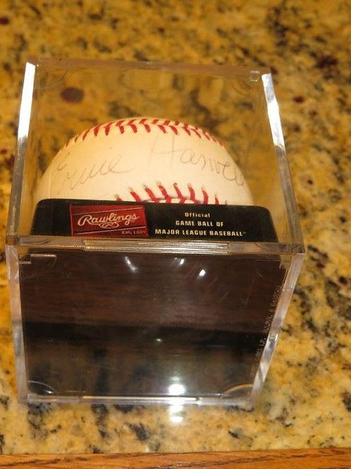 Ernie Harwell Signed Baseball