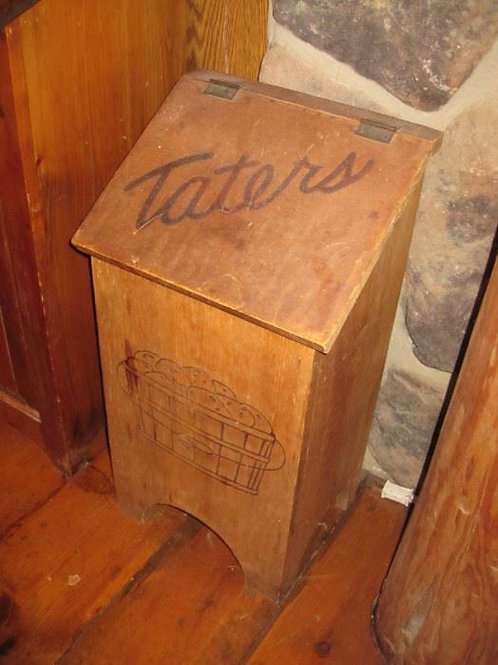 "Wood Taters box, 18"""