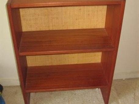 Arne Vodder Denmark MCM 2 shelf book shelf