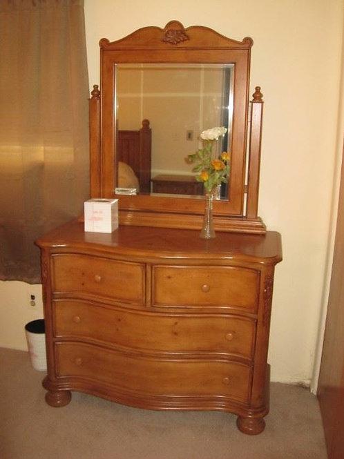 Solid Maple 4 drawer Dresser