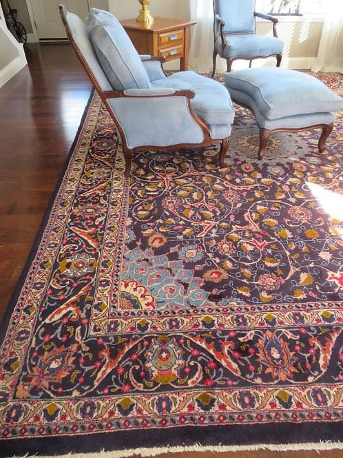 Excellent condition 13 x 9.5' wool rug from Merkel