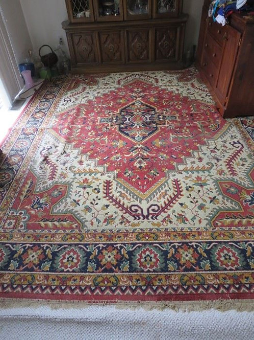 9 x 12 wool rug VG condition