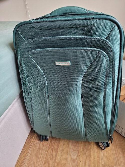 Large Green Samsonite Suitcase