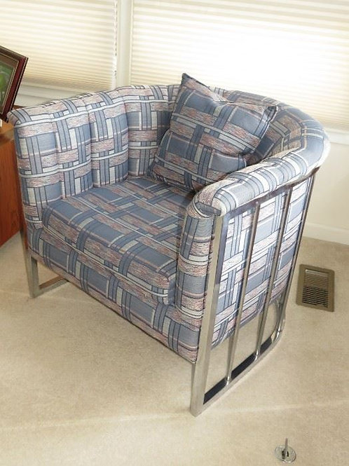 Name that designer Milo Baughman Style, Club Barrel Chair ($175 Ea)