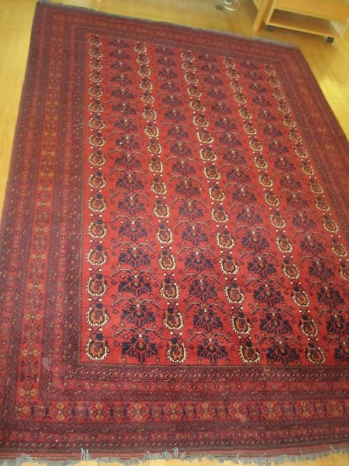 "Oriental hand woven all wool rug Afghanistan, 6'9"" x 10'"
