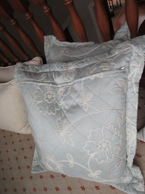 Sea Foam & Cream Down Pillows w/ Zipper ($12ea)