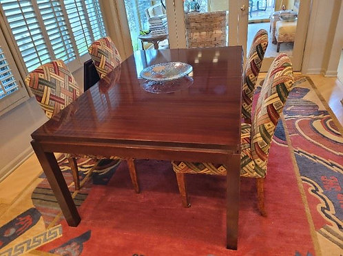 Henredon Table w/8 Upholstered Chairs