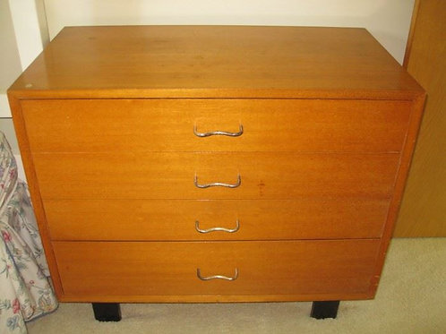 George Nelson Basic Cabinet Series for Herman Miller Dresser Handles has wear
