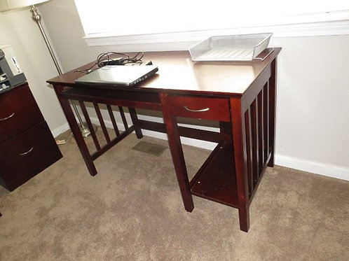 "Office desk good condition 47"" wide"