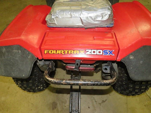 Honda FourTrax 200SX, seat needs recovering