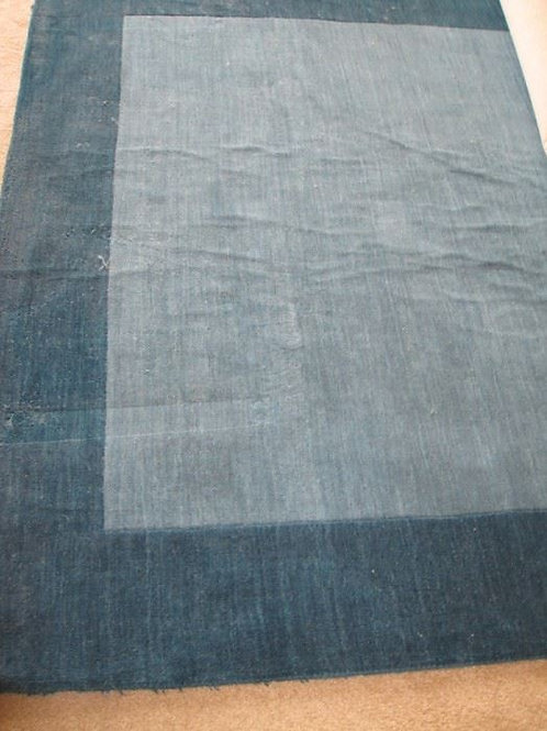 Wool Teal rug, 10 x 8' needs cleaning