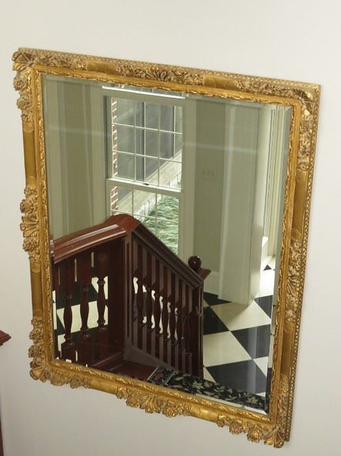 Large Beveled Ornate Mirror