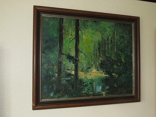 Oil Canvas - Neil Davison