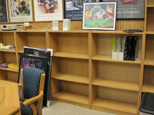 $10.00 each, Bookshelves short 4 available